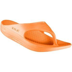 Telic Signature Orange Arch Support Flip Flops 9